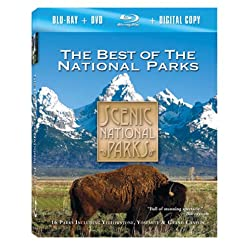 Scenic National Parks: The Best of the National Parks Combo Pack [Blu-ray]