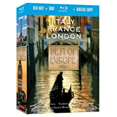 Best of Europe: Italy, France, London & Beyond Combo Pack [Blu-ray]