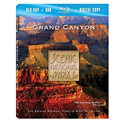 Scenic National Parks: Grand Canyon Combo Pack [Blu-ray]