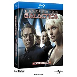 Battlestar Galactica: Season Three [Blu-ray]