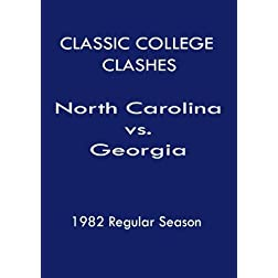 1982 N. Carolina vs Georgia - Classic College Clashes