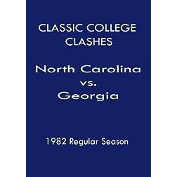1982 N. Carolina vs Georgia - Classic College Clashes
