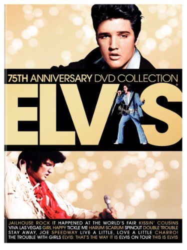Elvis 75th Anniversary DVD Collection (Elvis on Tour / Jailhouse Rock / Viva Las Vegas / It Happened at the World's Fair / This Is Elvis / and More)