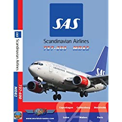 SAS Scandinavian Airlines Boeing 737-600 & Douglas MD82