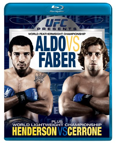 UFC Presents WEC (World Extreme Cagefighting): Aldo Vs Faber [Blu-ray]