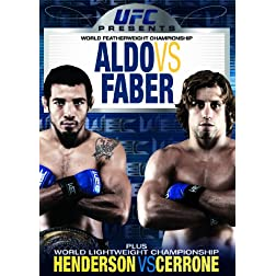 UFC Presents WEC (World Extreme Cagefighting): Aldo Vs Faber
