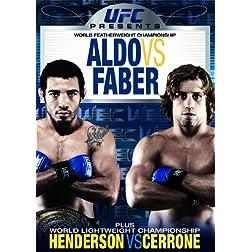 UFC Presents WEC (World Extreme Cagefighting): Aldo Vs Faber