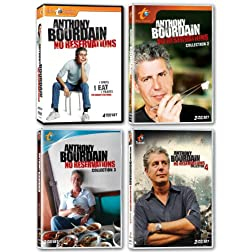 Anthony Bourdain: No Reservations- Collections One-Four