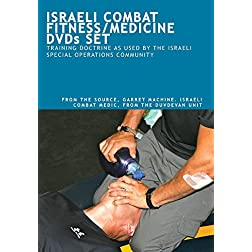 ISRAELI COMBAT FITNESS/MEDICINE DVDs SET