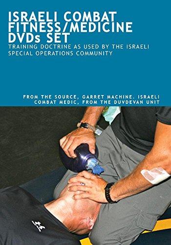 ISRAELI COMBAT FITNESS/MEDICINE DVDs SET
