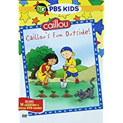 Caillou: Caillou's Fun Outside (Full Dol)