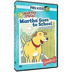 Martha Speaks: Martha Goes to School (Ws Dol)