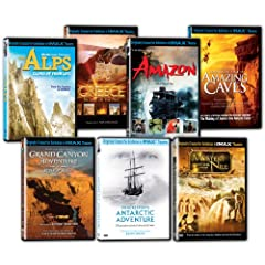 IMAX: Must-See Places Collection (The Alps/Greece/Amazon/Shackleton's Antarctic Adventure/Journey into Amazing Caves/Grand Canyon Adventure/Mystery of the Nile)