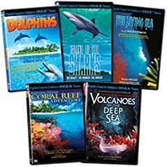 IMAX: Oceans Collection (The Living Sea/Coral Reef Adventure/Volcanoes of the Deep Sea/Dolphins)