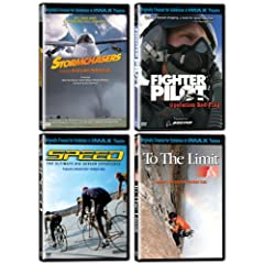 IMAX: Speed Collection (Fighter Pilot/Speed/Stormchasers/To the Limit)