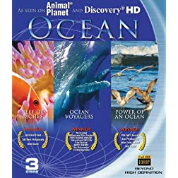 Ocean: Blu-ray 3-pack (Reefs of Riches, Power of an Ocean, Ocean Voyagers