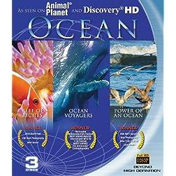 Ocean: Blu-ray 3-pack (Reefs of Riches, Power of an Ocean, Ocean Voyagers