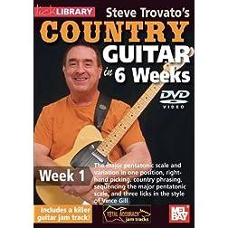 Steve Trovato's Country Guitar In 6 Weeks, Week 1