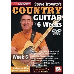 Steve Trovato's Country Guitar In 6 Weeks, Week 6
