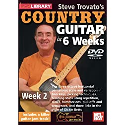 Steve Trovato's Country Guitar In 6 Weeks, Week 2