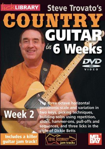 Steve Trovato's Country Guitar In 6 Weeks, Week 2