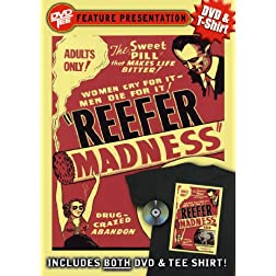 Reefer Madness DVDTee (Size L)