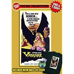 Atom Age Vampire DVDTee (Size L)