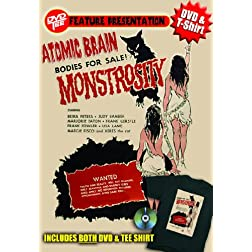 Atomic Brain DVDTee (Size XL)