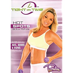 Tamilee Webb: TIGHT ON TIME HOT SPOTS: ABS, ARMS & BUNS WORKOUT