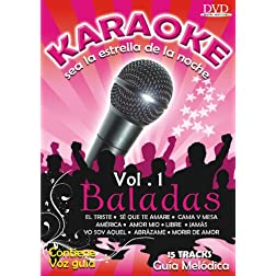 BALADAS V.1 KARAOKE