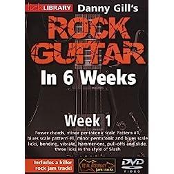 Danny Gill's Rock Guitar In 6 Weeks: Week 1 DVD