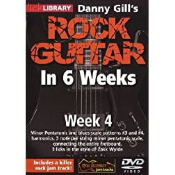 Danny Gill's Rock Guitar In 6 Weeks: Week 4 DVD
