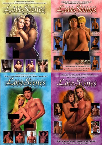 Her Fantasy Love Scenes 4 Volume Set