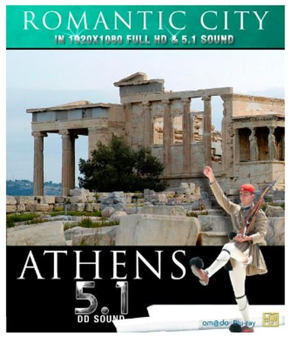 Romantic Cities: Athens [Blu-ray]