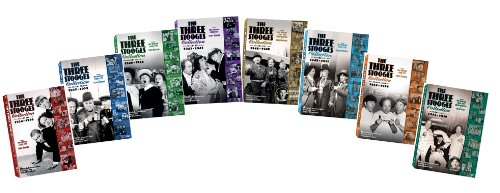 The Three Stooges Collection, Volumes 1-8 Bundle