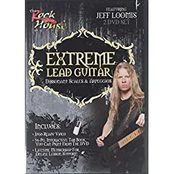 Extreme Lead Guitar Dissonant Scales and Arpeggios