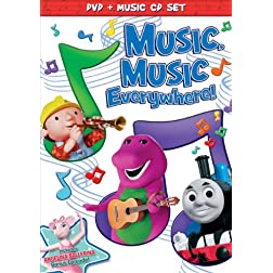 HIT Favorites: Music Music Everywhere!  (DVD + Music CD Set)