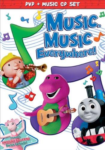 HIT Favorites: Music Music Everywhere!  (DVD + Music CD Set)