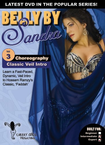 Belly By Sandra Vol. 3: Classic Veil Intro (Bellydance Choreography Instructional)