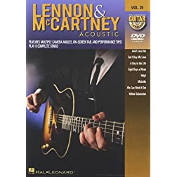 Guitar Play Along: Lennon & Mccartney Acoustic 29