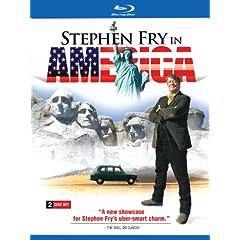Stephen Fry in America (2pc) [Blu-ray]