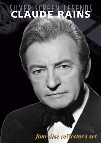 Silver Screen Legends: Claude Rains (4 DVD Set)