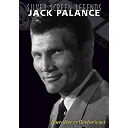Silver Screen Legends: Jack Palance (4 DVD Set)