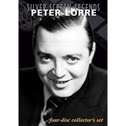 Silver Screen Legends: Peter Lorre (4 DVD Set)