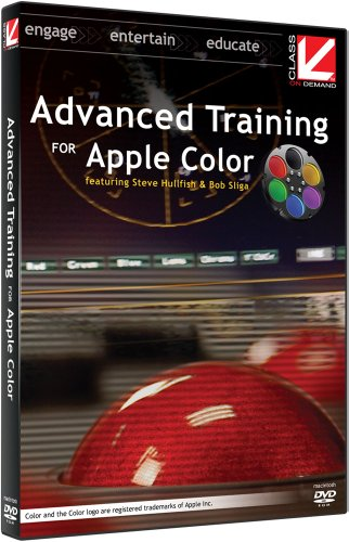 Class on Demand: Advanced Training for Apple Color educational tutorial training DVD