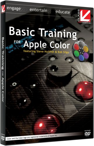 Class on Demand: Basic Training for Apple Color:Apple educational tutorial training DVD