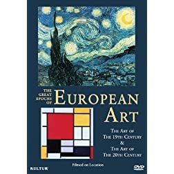Great Epochs of European Art: Art of the 19th Century & the 20th Century