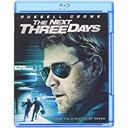 The Next Three Days (Blu-ray/DVD Combo + Digital Copy)