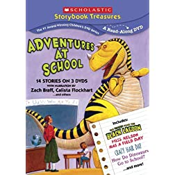 Adventures at School (Scholastic Storybook Treasures)