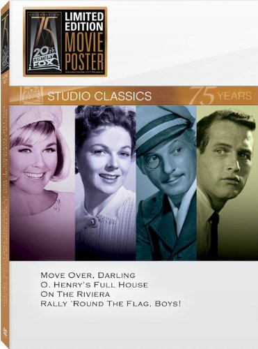 Classic Quad Set 15: Move Over, Darling/O'Henry's Full House/On the Riviera/Rally 'Round the Flag, Boys!